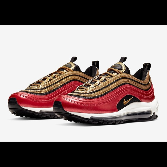Nike Womens Air Max 97 Icon Clash Sneakers (10) NWT